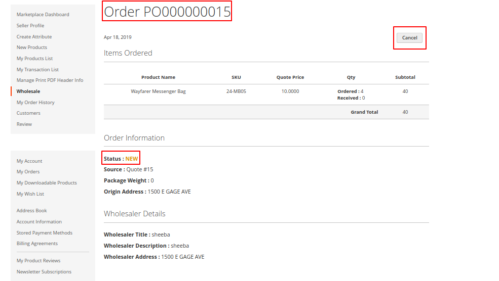 Magento2-PO-Order information-4