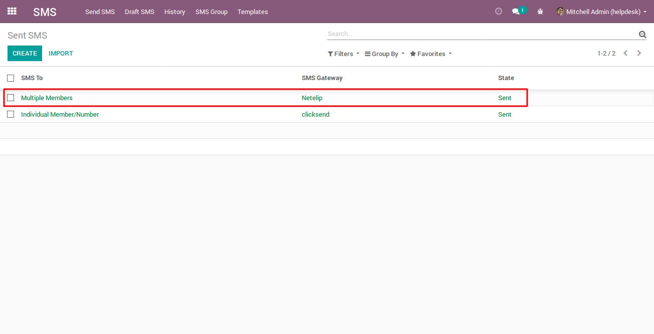 Sending Bulk SMS with Netelip SMS gateway 5