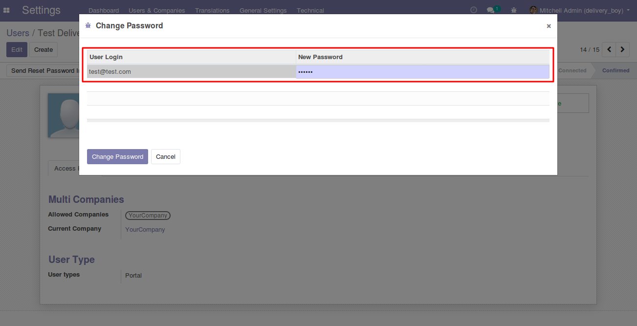 creating Delivery Boy in Odoo 4