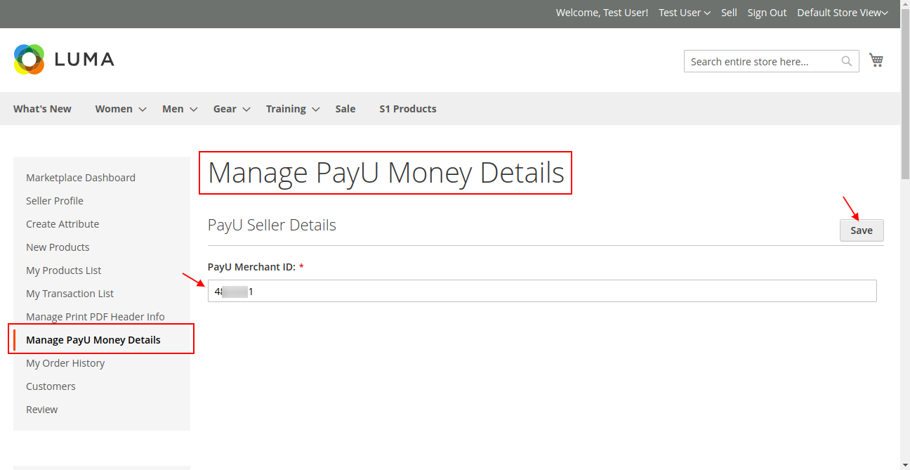 manage payumoney seller end