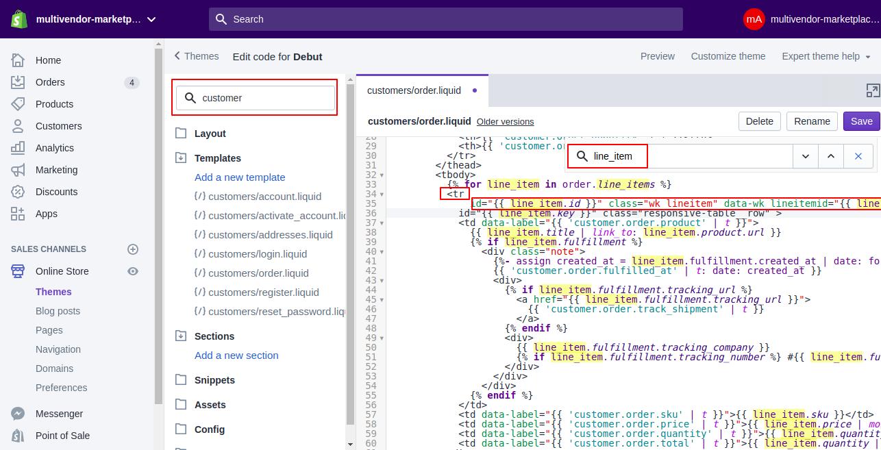 multivendor marketplace 4 Edit Debut Shopify