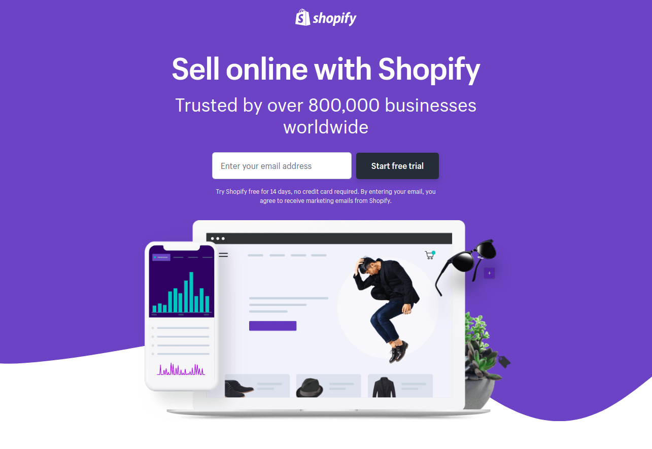 Create your online store today with Shopify