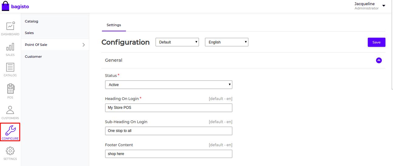 Laravel-eCommerce-POS-Configuration