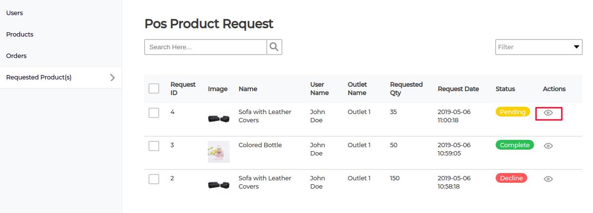Laravel-eCommerce-POS-RequestProduct