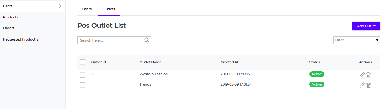Laravel-eCommerce-outlet-creation