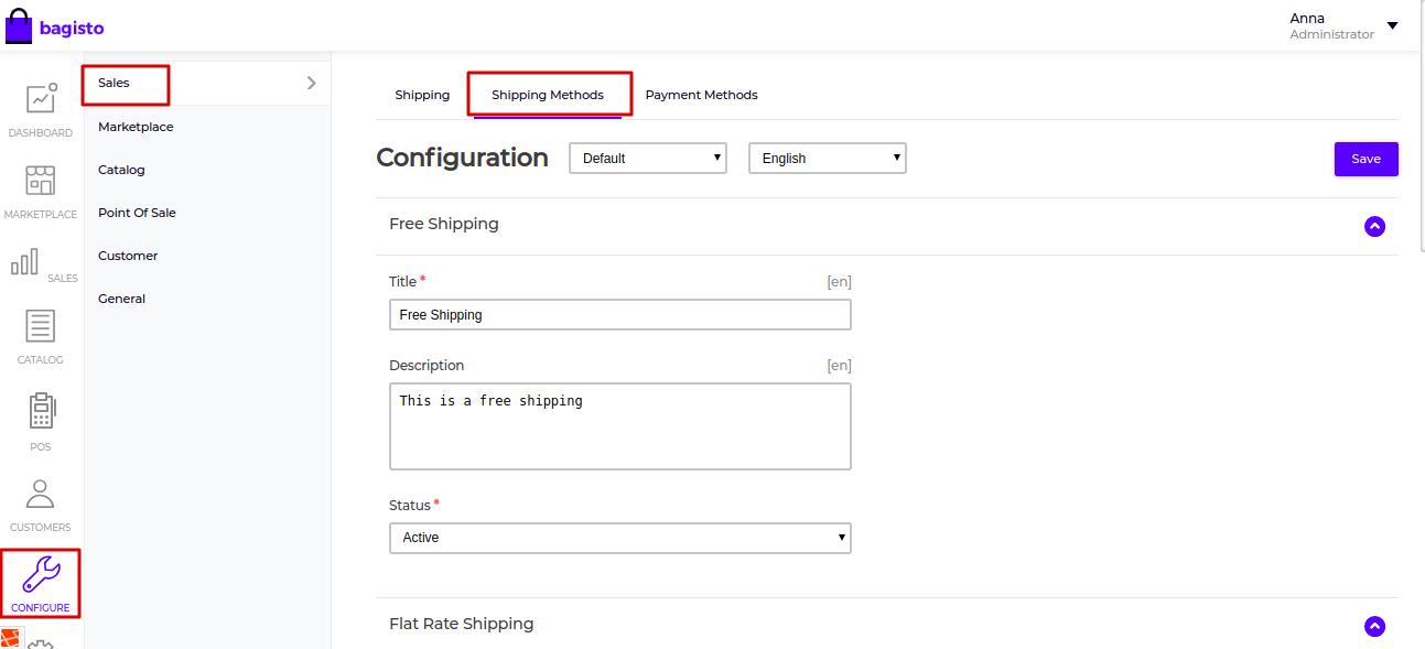 laravel marketplace per product shipping admin settings