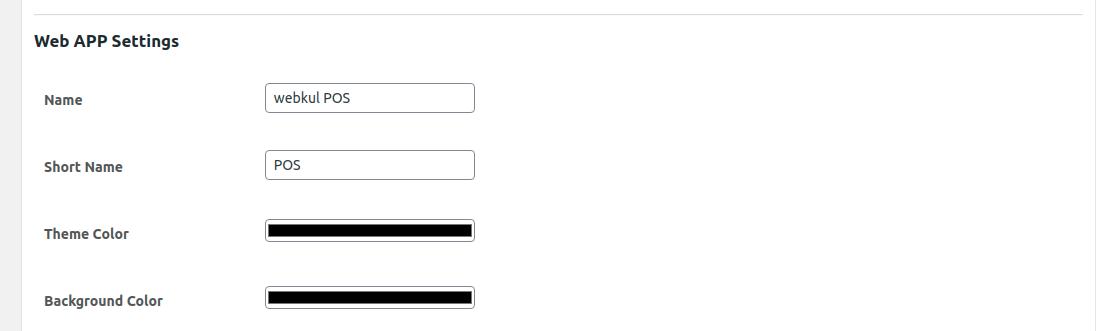 web-setting