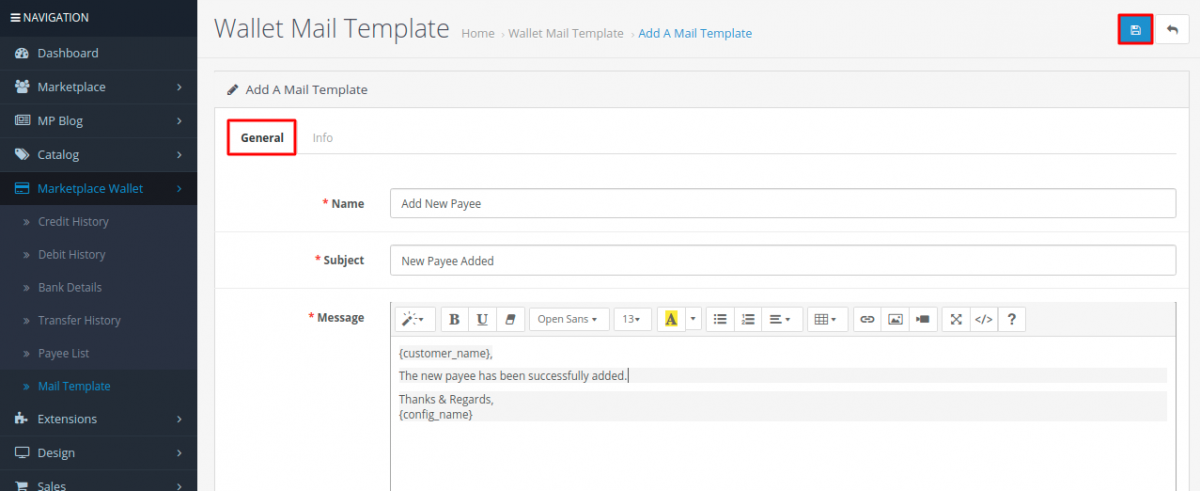 Add-new-mail-template