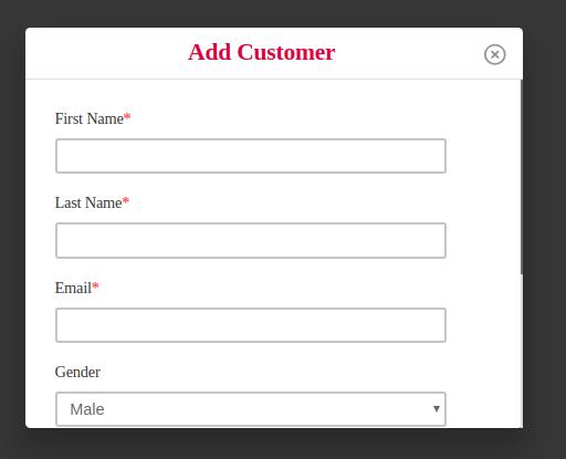 POS add new customer