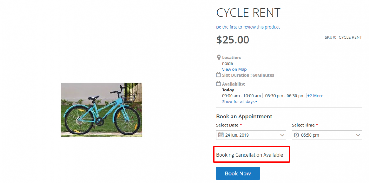 Magento 2 Rental Extension_cancel-booking-front1