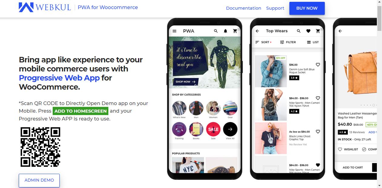 WooCommerce Progressive Web App | PWA eCommerce Mobile Plugin