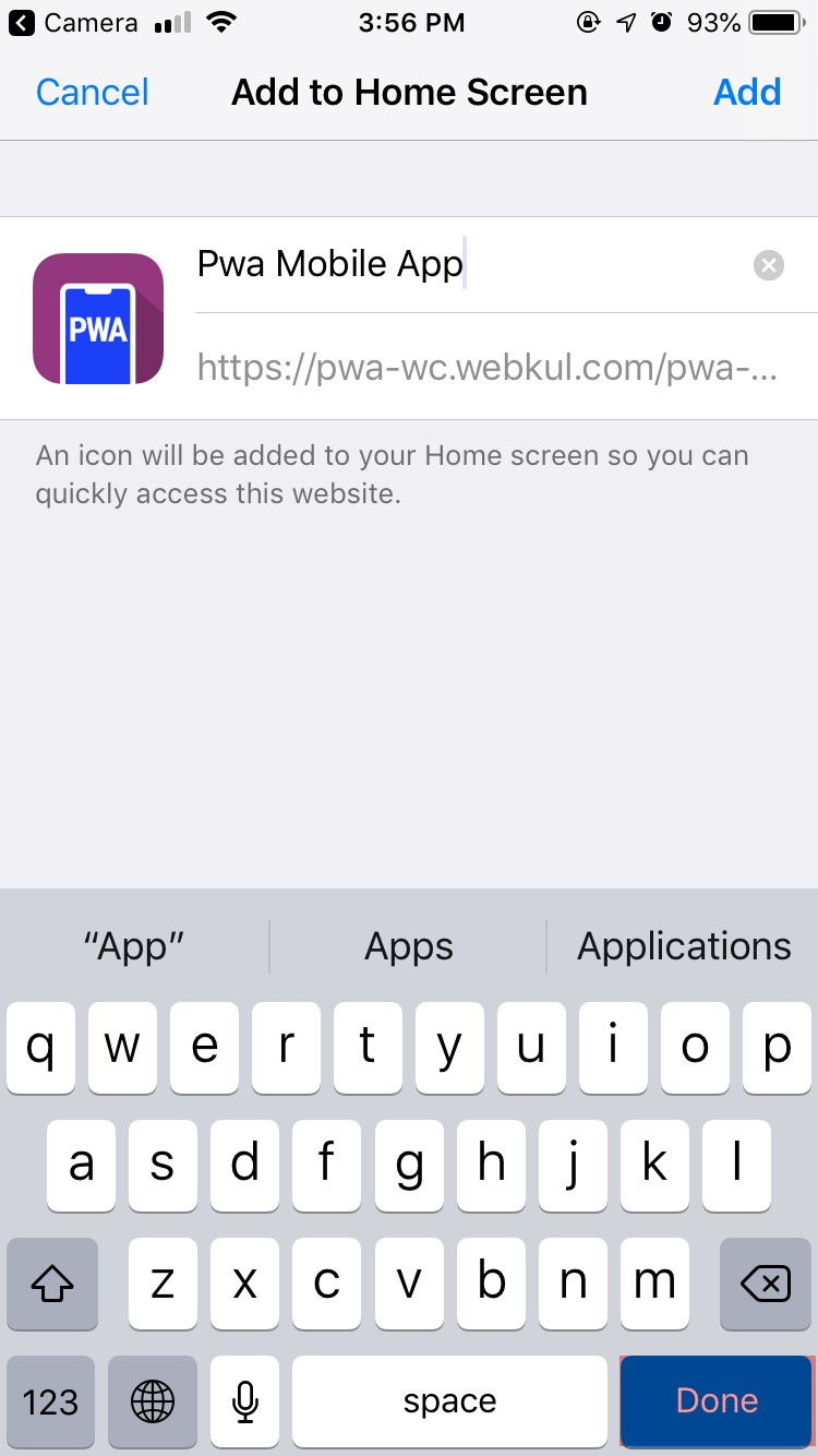 progressive web app for woocommerce pwa_woocomemerce_webkul_done