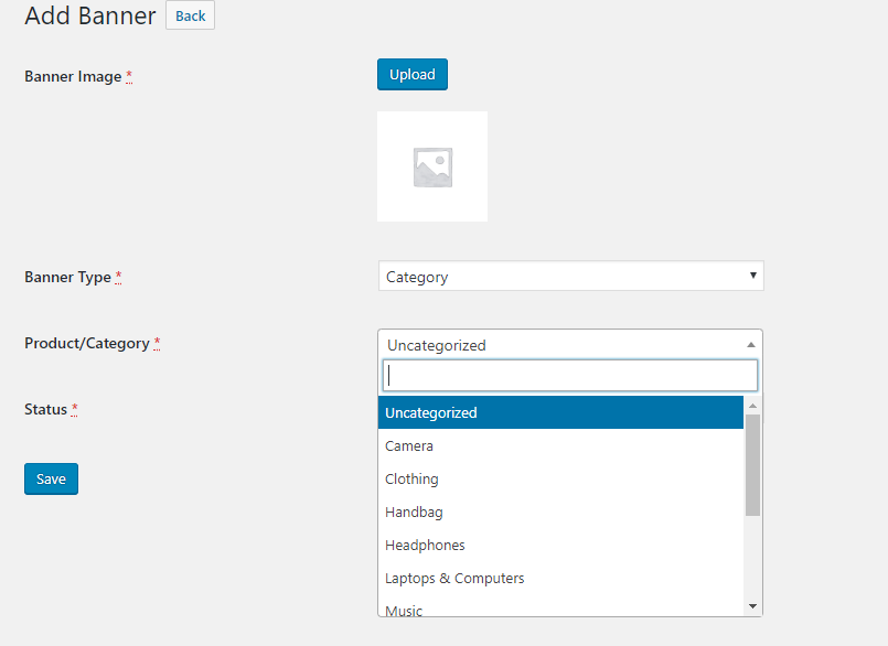 progressive web app for woocommerce webkul_wc_pwa_add_banner_category