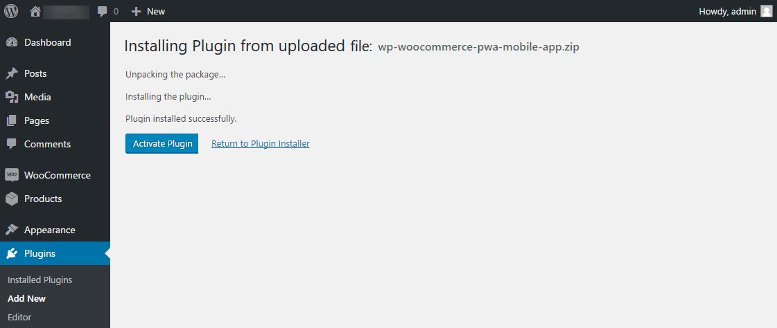 webkul_wc_pwa_installation_success_installed_plugin