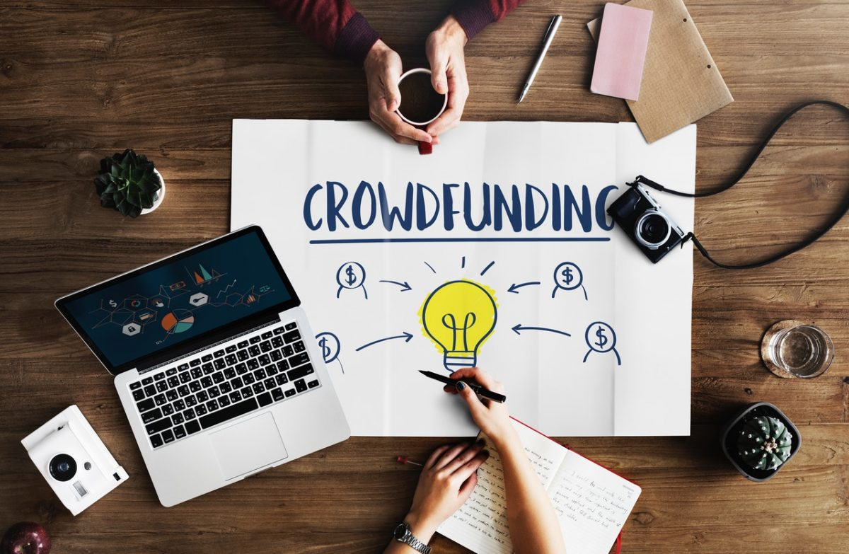 how to create a crowdfunding website?