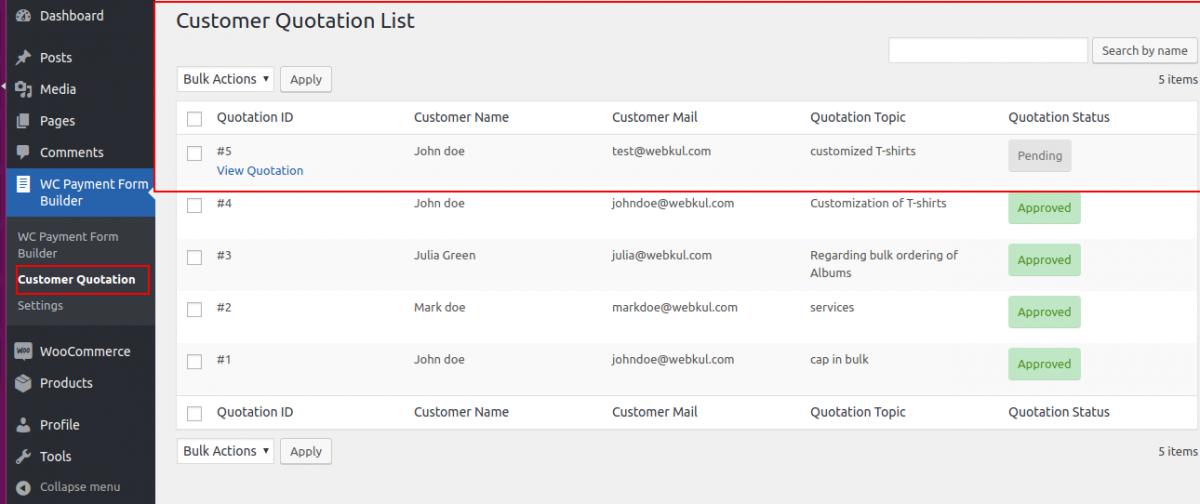 customer-quotate-list