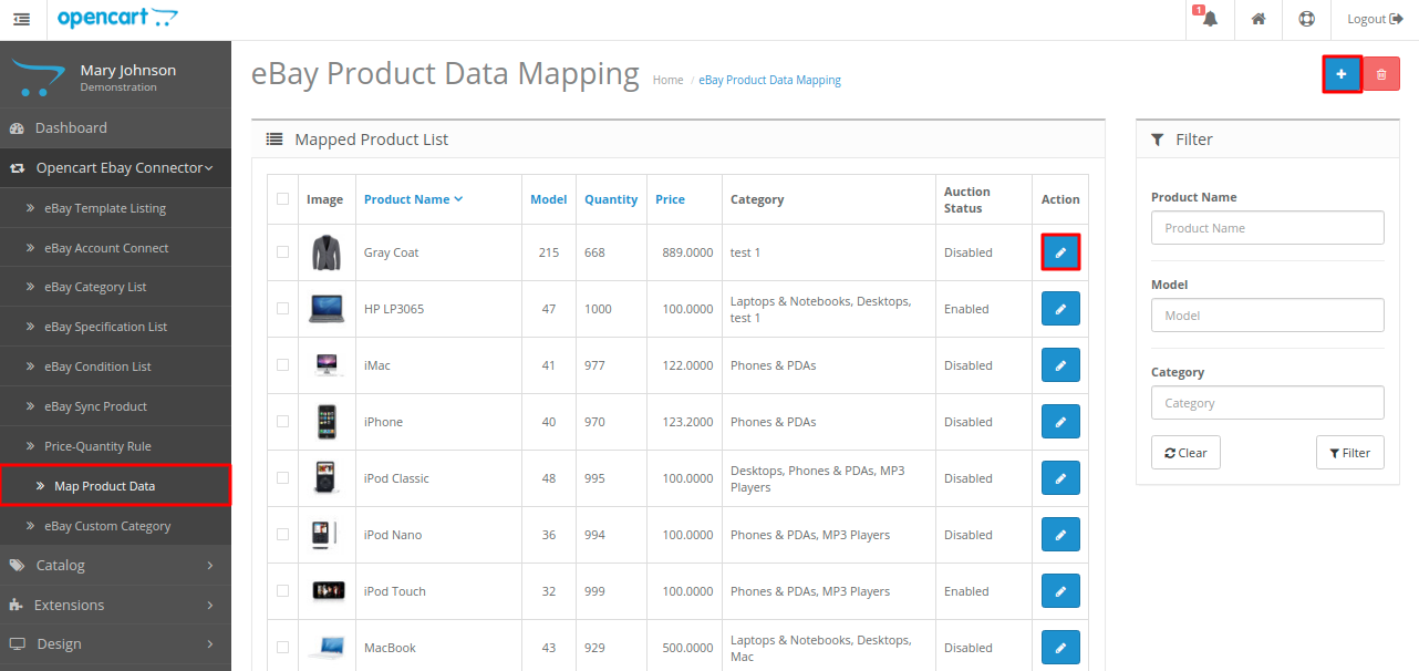 map-product-data