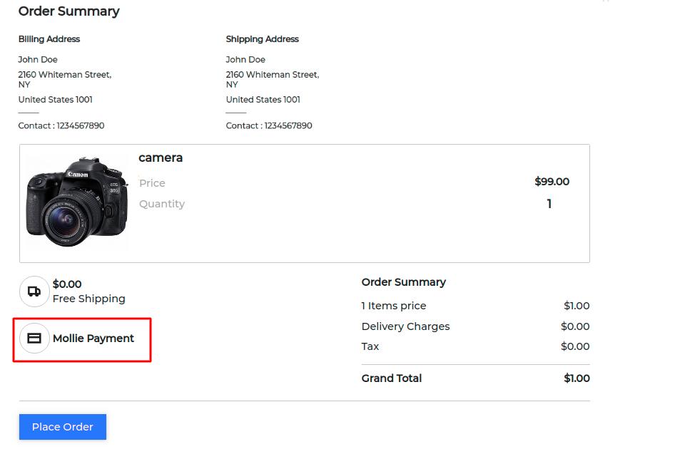 Laravel eCommerce Mollie Payment Gateway - Webkul Blog