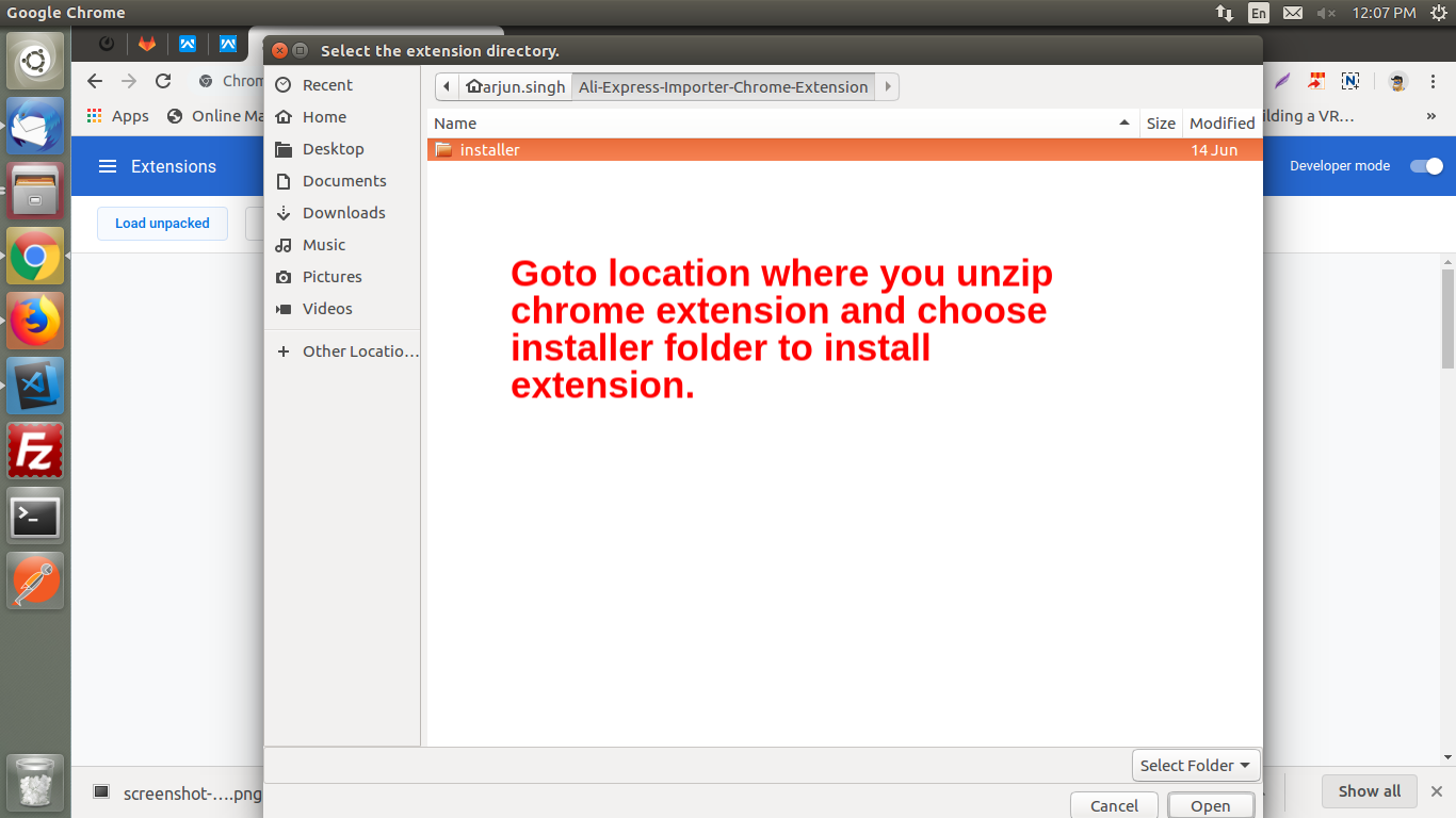 How to install the unpacked extension in Chrome - Webkul Blog