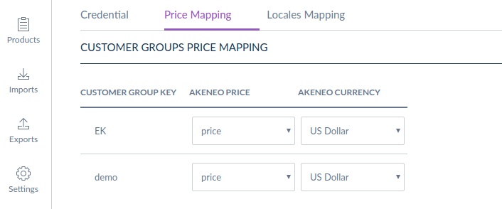 shopware-akeneo-connector-price-mapping