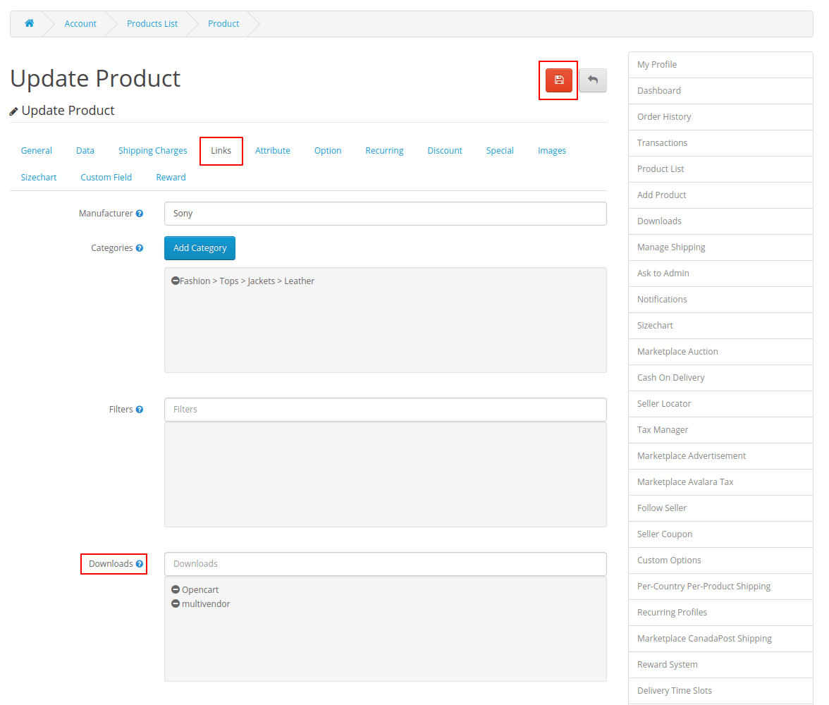 webkul-opencart-multi-vendor-amazon-s3-module-creating-downloadable-link-seller-end