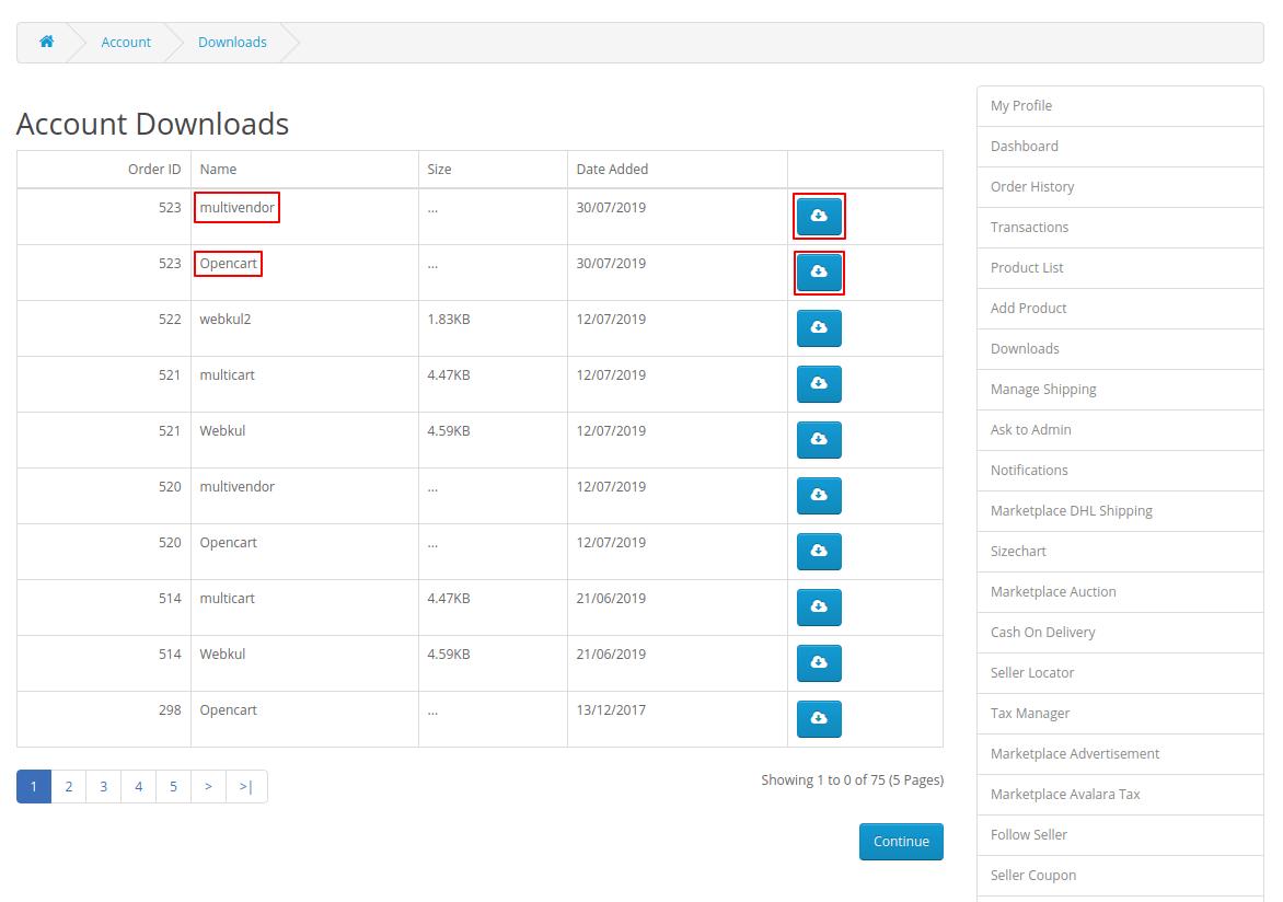 webkul-opencart-multi-vendor-amazon-s3-module-storing-downloadable-item