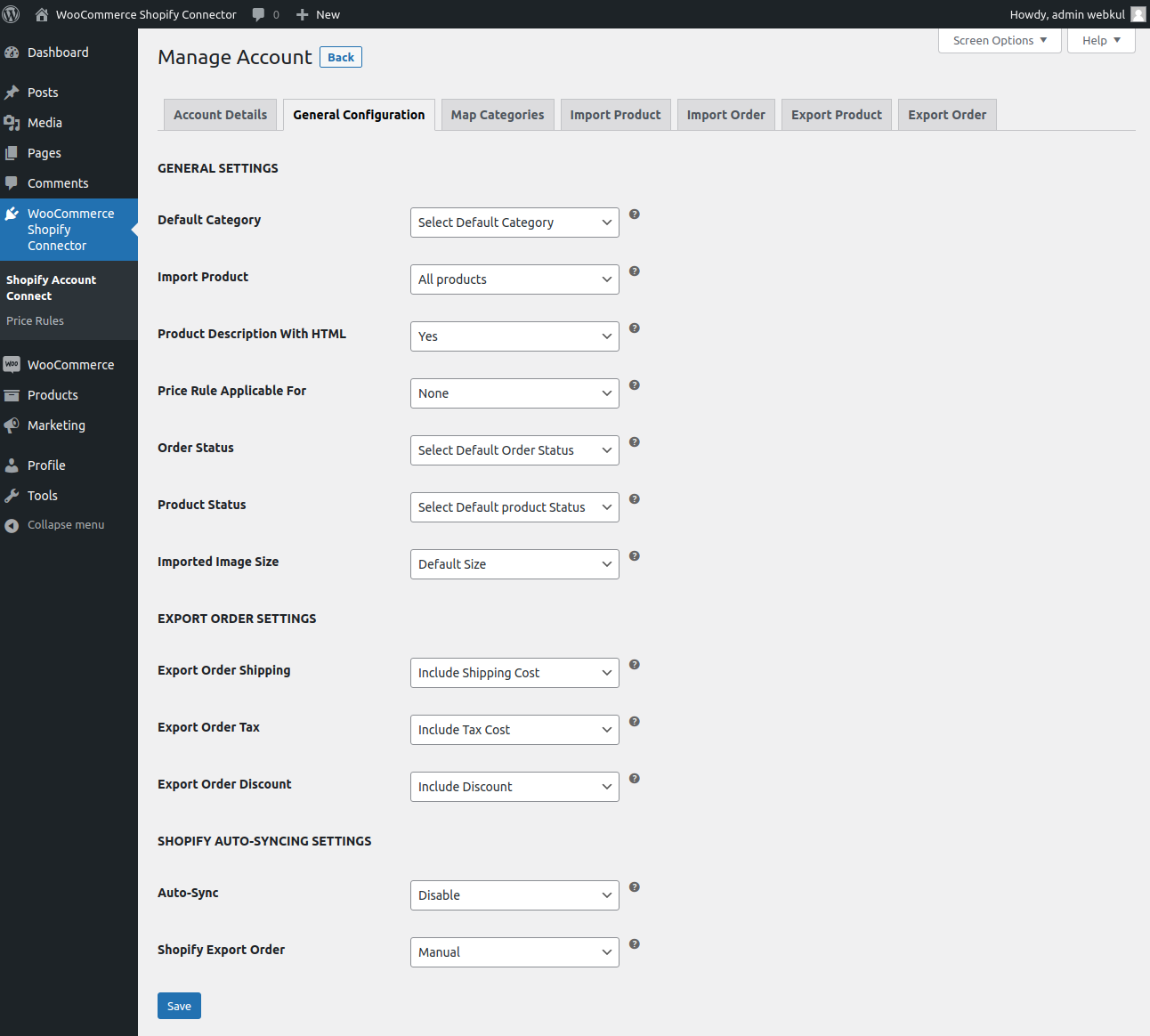 Shopify-Account-