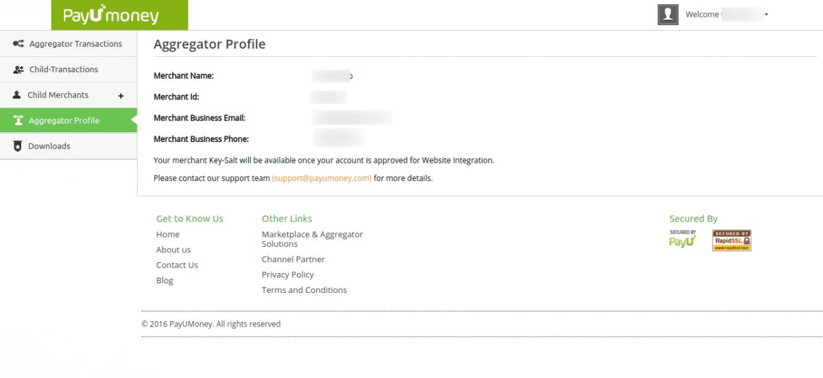 Aggregator-API-credentials