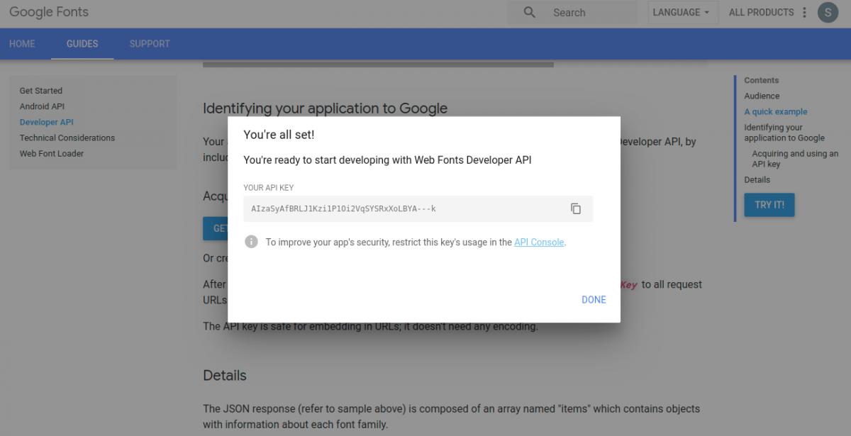 Laravel-eCommerce-Google-web-fonts