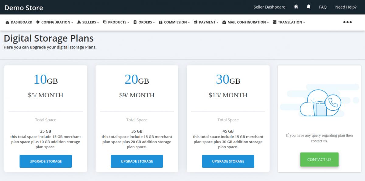 Different Data Plans