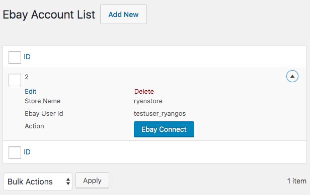 WordPress WooCommerce eBay Connector Plugin - 5
