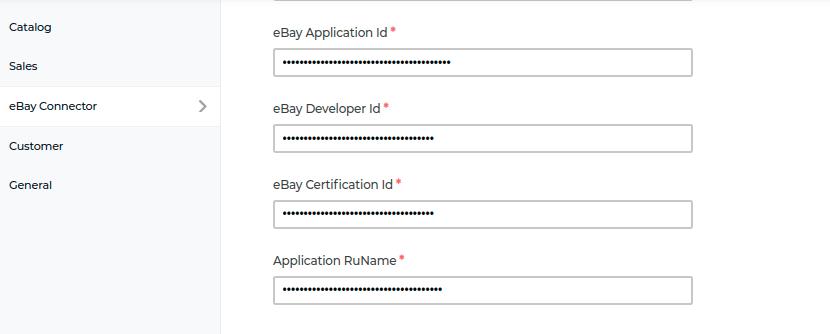 laravel-eCommerce-ebay-connector-ebay-credential