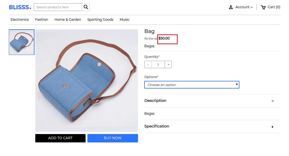 laravel-eCommerce-ebay-connector-manage-price-rules