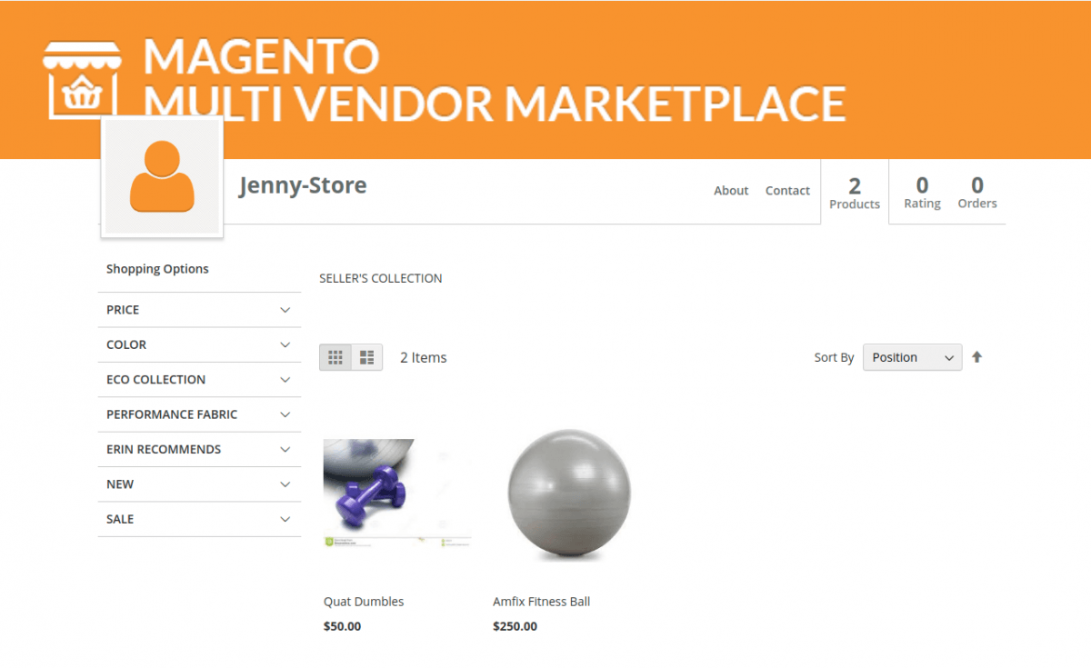 Magento 2 B2B Wholesale Catalogue for Vendors seller product