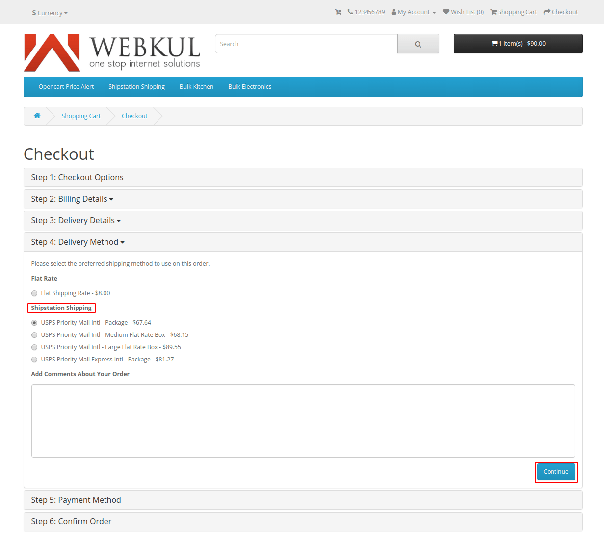 opencart module