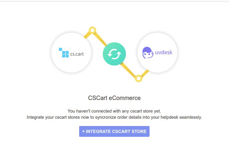 Integrate CS-Cart Store