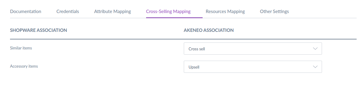 cross-selling mapping