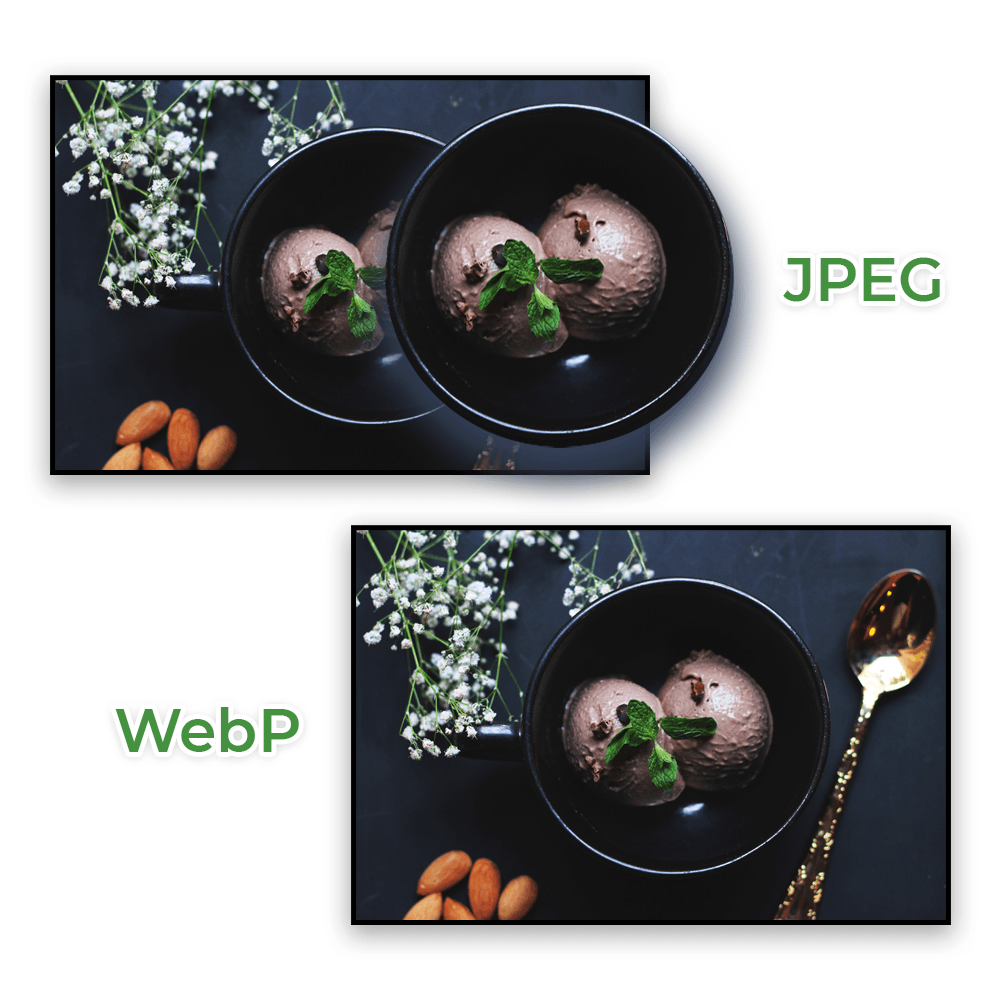 Converted images