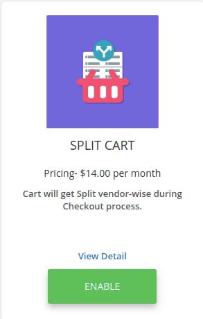 split cart