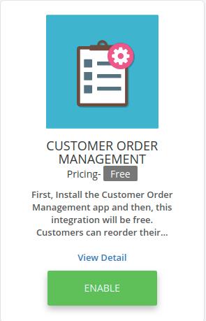 customer order management