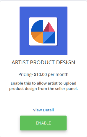 artist product design