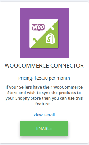 woocommerce connector