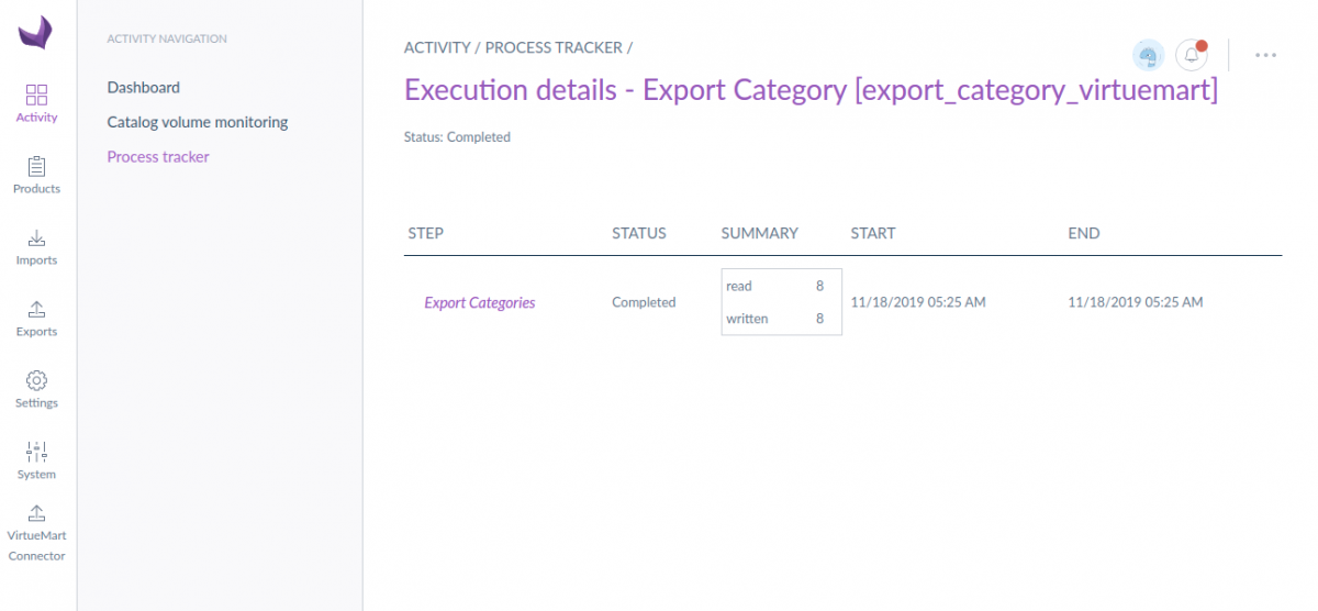 EXport category