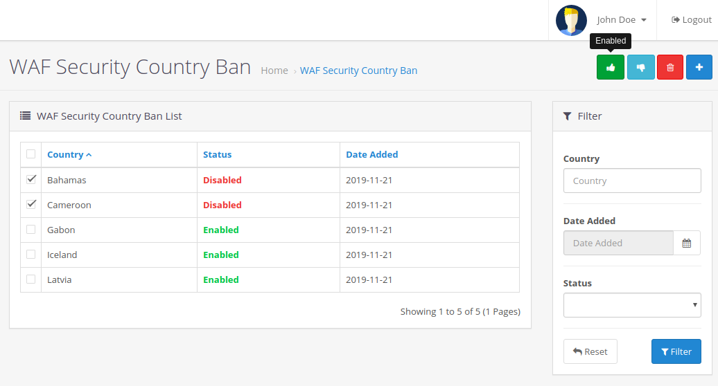 wevkul-opencart-web-application-firewall-security-country-ban-list