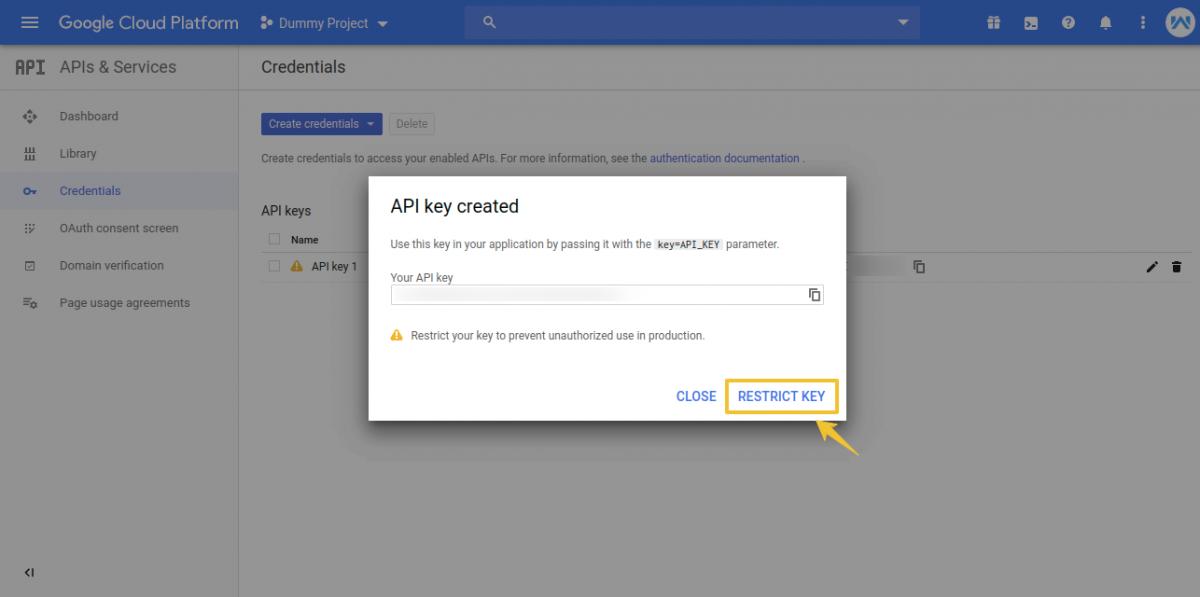 Credentials-Dummy-Project-Google-Cloud-Platform-1