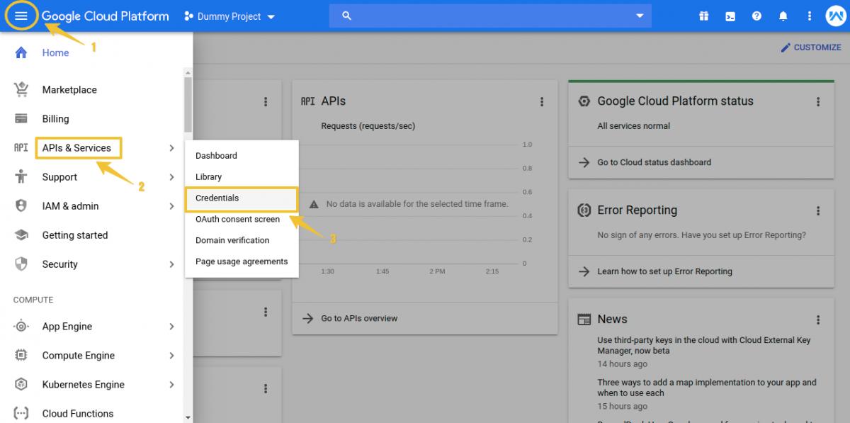 Home-–-Dummy-Project-–-Google-Cloud-Platform