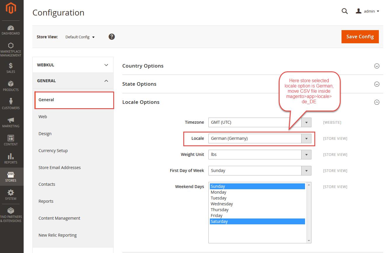 Magento2 Form Builder Language Configuration