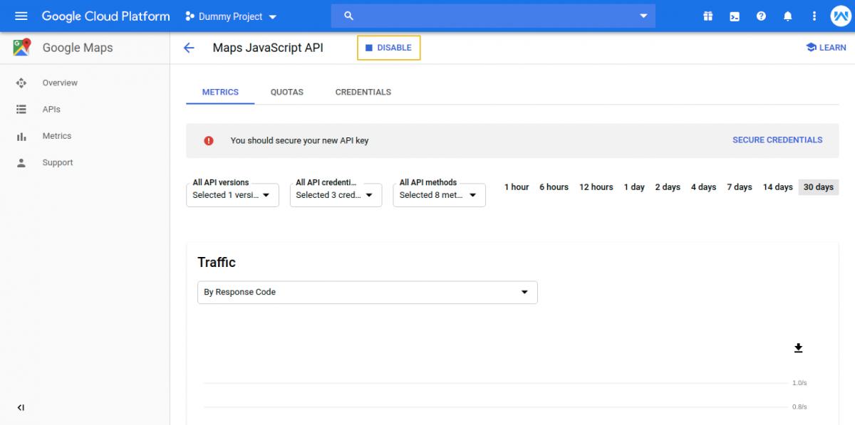 Maps-JavaScript-API-–-Google-Maps-–-Dummy-Project-–-Google-Cloud-Platform