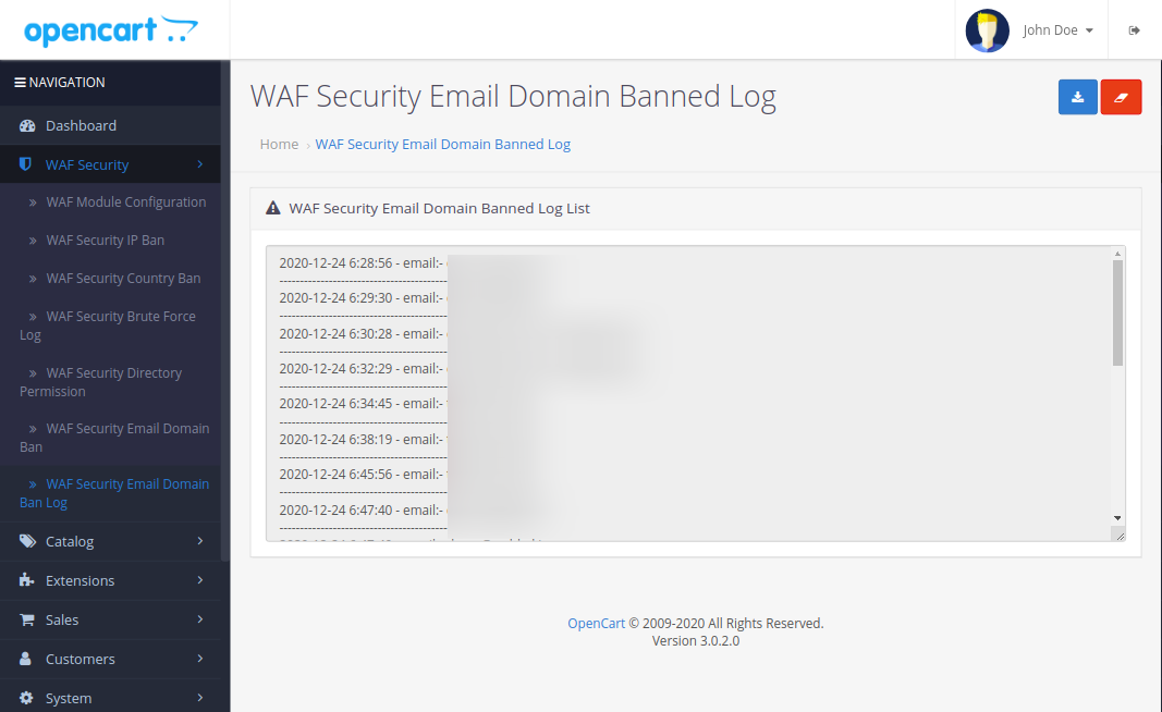 WAF-Security-Email-Domain-Banned-Log-1