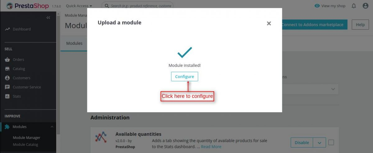 voucher promotion module installed